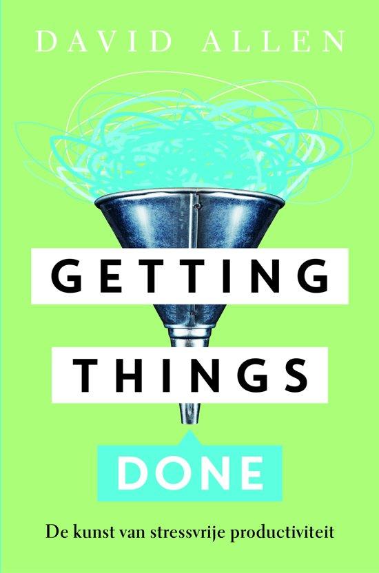 boek timemanagement getting things done gtd